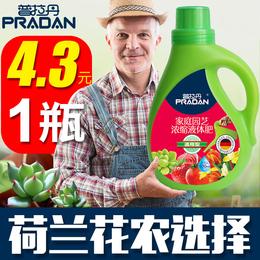 普拉丹有机肥多肉水培植物营养液通用型浓缩液体肥土盆栽花肥肥料