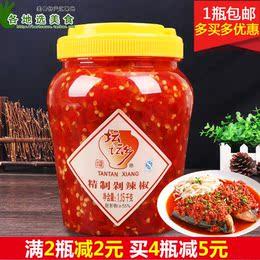 湖南特产坛坛乡剁辣椒1.15kg 坛坛香剁椒鱼头辣椒酱 下饭菜拌饭酱