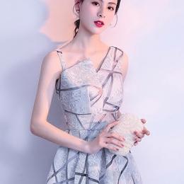 小礼服裙女名媛2018新款伴娘连衣裙短款聚会派对宴会蓬蓬裙晚礼服