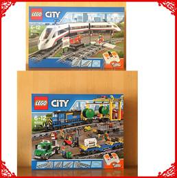 乐高 LEGO 60051 60052 城市系列电动遥控 高速客运列车货运火车
