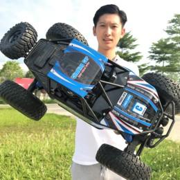 儿童遥控汽车越野车高速攀爬玩具 男孩子充电无线赛车 4-6-10周岁