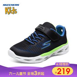 Skechers斯凯奇 男童网面运动鞋透气防滑舒适防撞大童鞋95741L