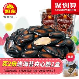 旭东话梅味西瓜子1000g小包袋装休闲零食小吃坚果炒货黑瓜子包邮