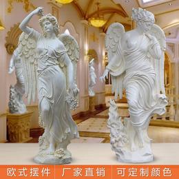 欧式女神雕塑四季天使雕像家居树脂摆件艺术品房地产大型迎宾人物