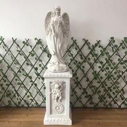 欧式树脂人物艺术天使雕塑女神雕像家居装饰品落地大摆件婚庆道具