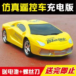 遥控汽车玩具兰博基尼电动高速漂移儿童玩具可充电男孩无线遥控车