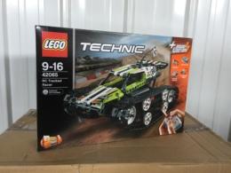 乐高积木LEGO 科技机械组系列42065履带式遥控赛车儿童玩具男孩
