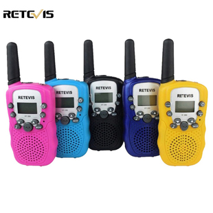 A pair Mini Walkie Talkie Kids Radio Retevis RT-388 RT388 0.