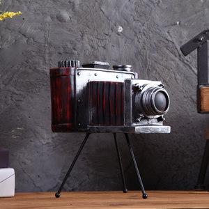复古三角架相机模型工艺品摆件<span class=H>店</span>铺橱窗<span class=H>个性</span>摆设软装饰品<span class=H>摄影</span>道具