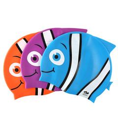 可爱卡通鲨鱼泳帽
