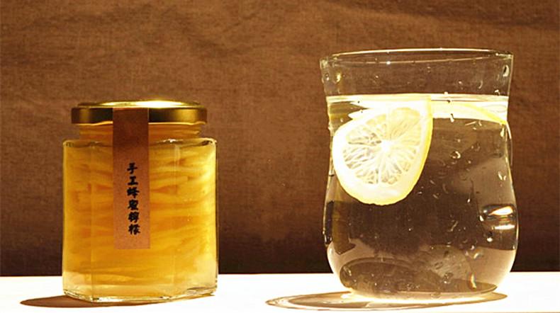 野生洋槐蜜蜂蜜柠檬 农家纯天然手工 蜂蜜柠檬茶 柠檬蜜 润肠通便