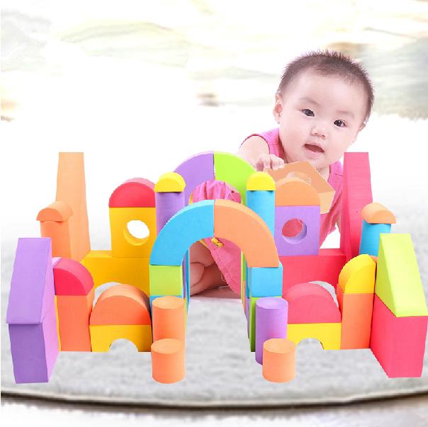 儿童软积木玩具