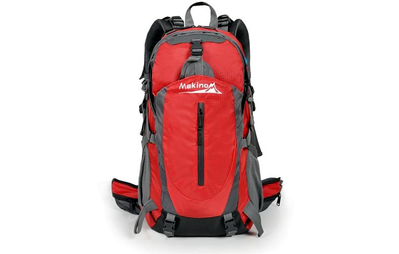 【买一送四】犸凯奴户外登山包双肩包男女防水旅行户外背包40L50L