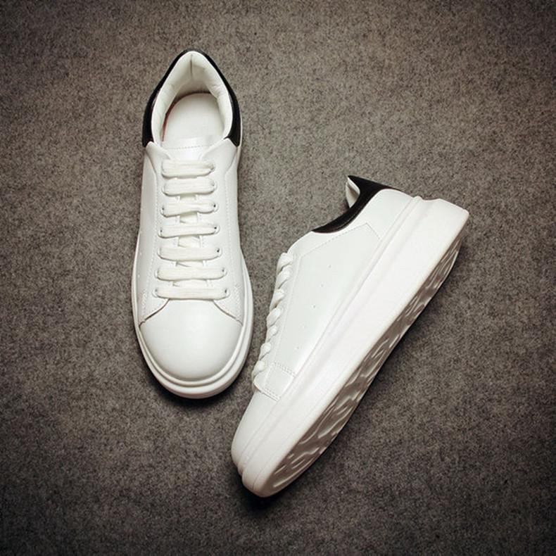2016春夏增高男鞋子韩版潮流休闲情侣鞋松糕白鞋厚底运动板鞋潮鞋