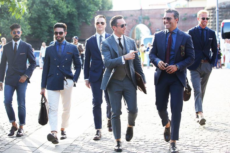 把握细节 商务男也能升级为时装精英