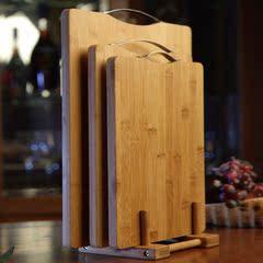 竹木加固菜板环保抗菌水果案板切菜板生食熟食分开砧板特价清仓