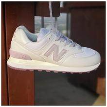 New 复古跑步鞋 WL574SF 休闲运动鞋 Balance 正品 NB574女鞋 粉色
