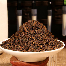 Pu'er ripe tea 06 super fine court loose tea Xiao Jinya 500g 10-year dry storage free of domestic freight