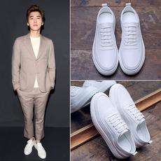冬季新款小白鞋男韩版潮流加绒白色板鞋男生运动保暖鞋子男鞋潮鞋