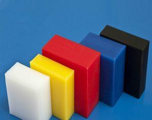 全新料蓝黑白色尼龙板 赛钢POM板/<span class=H>棒</span> <span class=H>ABS</span>板 <span class=H>塑料</span>板材可零切加工