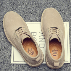 马丁鞋男冬季加绒保暖鞋子潮鞋休闲大头皮鞋英伦靴子低帮工装棉鞋