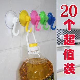 强力吸盘挂钩厨房粘钩无痕吸壁式卫生间浴室挂钩真空免打孔胶粘钩