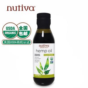 Nutiva优缇  美国原装进口有机火麻仁油火麻油 236ml