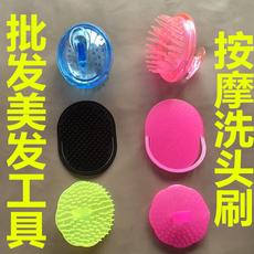 20元包邮洗头刷子 按摩刷清洁去头屑防脱发日本硅胶头皮部按摩器