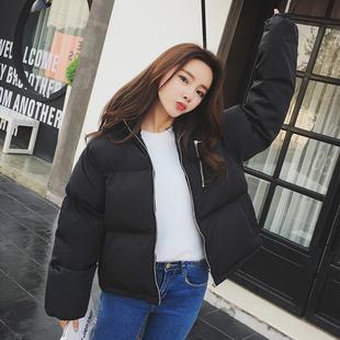 反季棉衣女面包服短款韩国小棉袄女韩版学生宽松bf棉服冬季外套