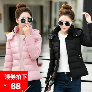 棉服女2018新款韩版东大门棉衣女短款冬季外套女chic学生ins棉袄