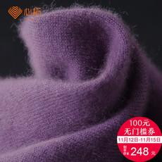 2017秋冬季新品高领短款长袖毛衣女式针织衫套头纯色打底衫羊绒衫