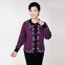 网红热卖2018秋冬新款中老年女装羊毛针织衫中年妇女加厚保暖妈妈