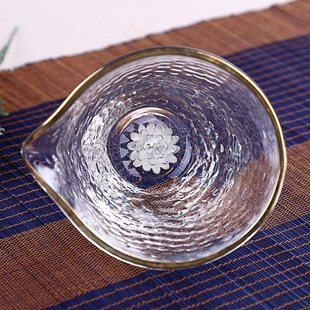 Yijia inlaid anemone lotus Japanese style hammocha glass the