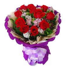 成都鲜花速递同城配送泸州德阳广元七夕圣诞情人节红玫瑰绵阳花店