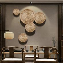 饰品客厅玄关墙面壁饰 东南亚墙饰挂件样板房中式简约家居餐厅装