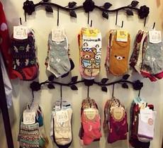 铁艺挂袜子丝袜架饰品内衣裤货架展示架上墙壁挂钩架子陈列架包邮