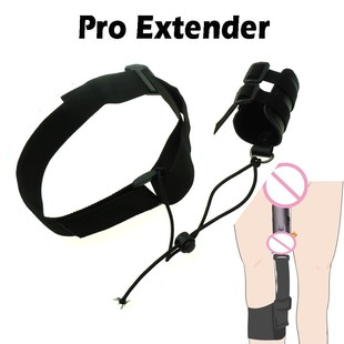 PENIS ENLARGER FOR MEN, LEATHER PENIS PRO EXTENDER STRETCHER