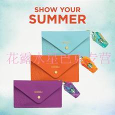 星巴克夏季缤纷色彩星冰乐杯型星享卡套装信封包零钱包金星级卡片