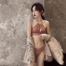 性感半杯抹胸内衣套装 1套3种穿法 聚拢小胸罩无钢圈文胸四角杯薄