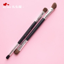 Cosmetic brush, shadow, nose shadow brush, high halo dyeing and brush, small horse hair, double head, bevel Eyeshadow brush, repair and brush, beauty dressing tool.