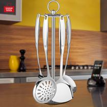 炒菜铲子全套汤勺锅铲家用厨房用品烹饪三件套装不锈钢厨具大漏勺