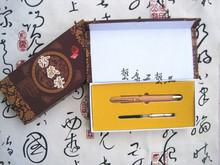 其他特色工艺品批发自制木工红豆杉钢笔创意古董木雕刻工艺品