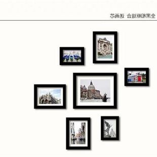 照片墙Family Picture Photo Frame Wall Decals Home Decor