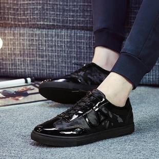 2016韩版新款鞋子 男潮流男鞋冬季男鞋休闲鞋男潮鞋男士棉鞋板鞋
