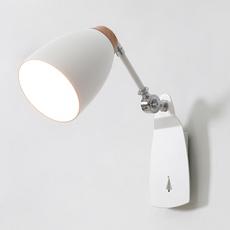 北欧壁灯床头灯卧室客厅创意书房楼梯现代简约阅读带开关墙壁灯具