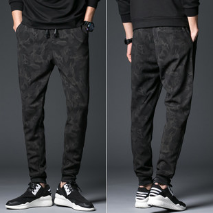裤Men Camouflage Military Pants Loose Cargo Joggers Trousers