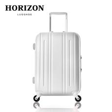 Horizon睿哲纯PC拉杆箱磨砂金属框19/24/27寸登机旅行硬箱万向轮