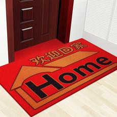 弹力丝喜庆地垫进门脚垫门垫门口垫子地垫家用出入平安门垫可定制