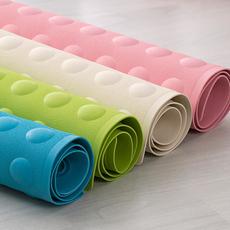 普旺人家浴室垫卫生间厕所厨房防滑地垫无味橡胶带吸盘大号浴缸垫