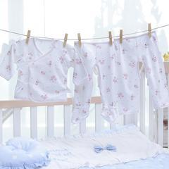 童泰13新款 宝宝内衣 新生儿内衣婴儿内衣纯棉宝宝和服内衣套装